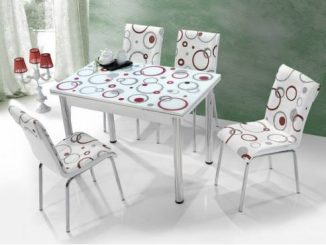 комплект със столое и маса