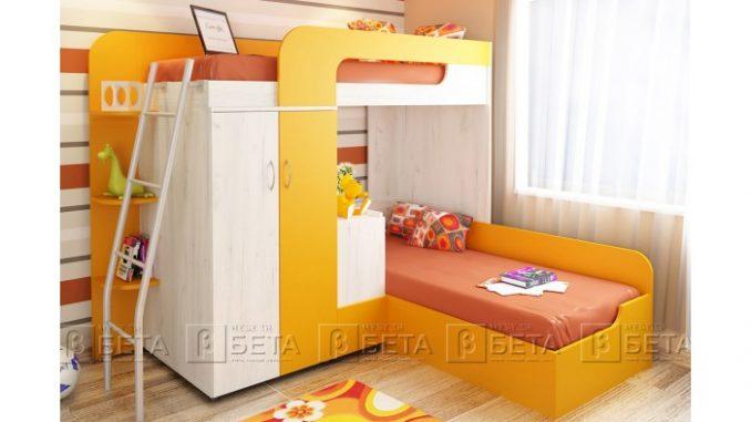 Двуетажно легло